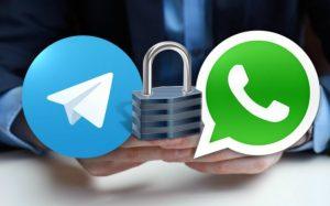 Seguridad de Telegram vs Whatsapp
